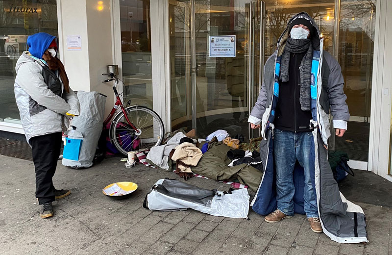 Sheltersuits Obdachlose